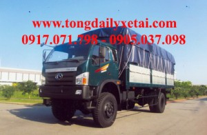 Xe Tải Kia THACO FLC600B Mui Bạt (6 tấn)