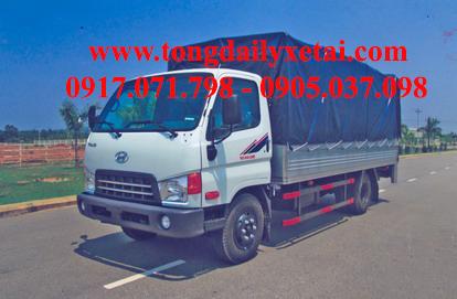 Xe tải Kia THACO HD450 Mui bạt (3.6 tấn)