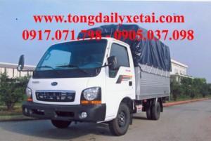 Xe tải Kia THACO K135 Mui bạt (1 tấn)