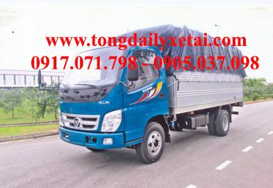 Xe tải Kia THACO OLLIN250 Mui bạt (2.5 tấn)