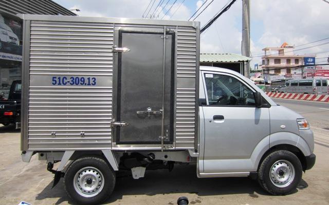 Xe Suzuki Pro Thùng Kín