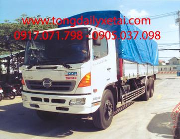 Xe tải Hino FL8JTSA 6×2 mui bạt (16 Tấn)