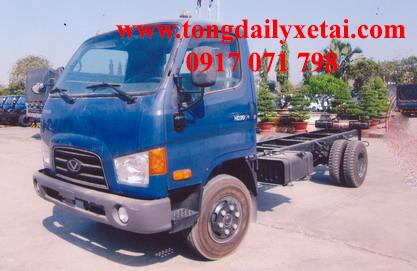 Đại lý xe tải Hyundai HD99 thùng lửng, thùng kín, thùng mui bạt 2016