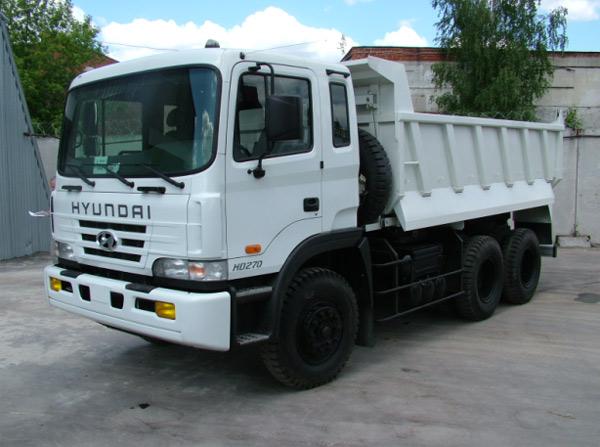Xe Tải Hyundai 8 Tấn HD160 Ben Tự Đổ