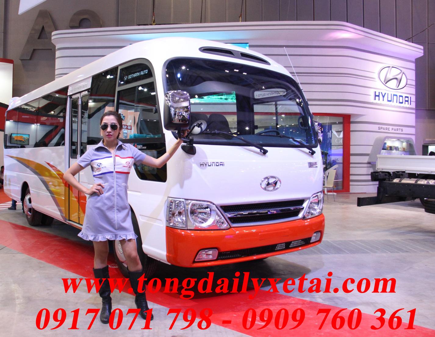 Xe Hyundai E-County Xl 29 Chỗ Ngồi
