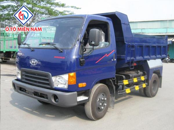 Xe Tải Hyundai 2.5 Tấn HD65 Ben Tự Đổ