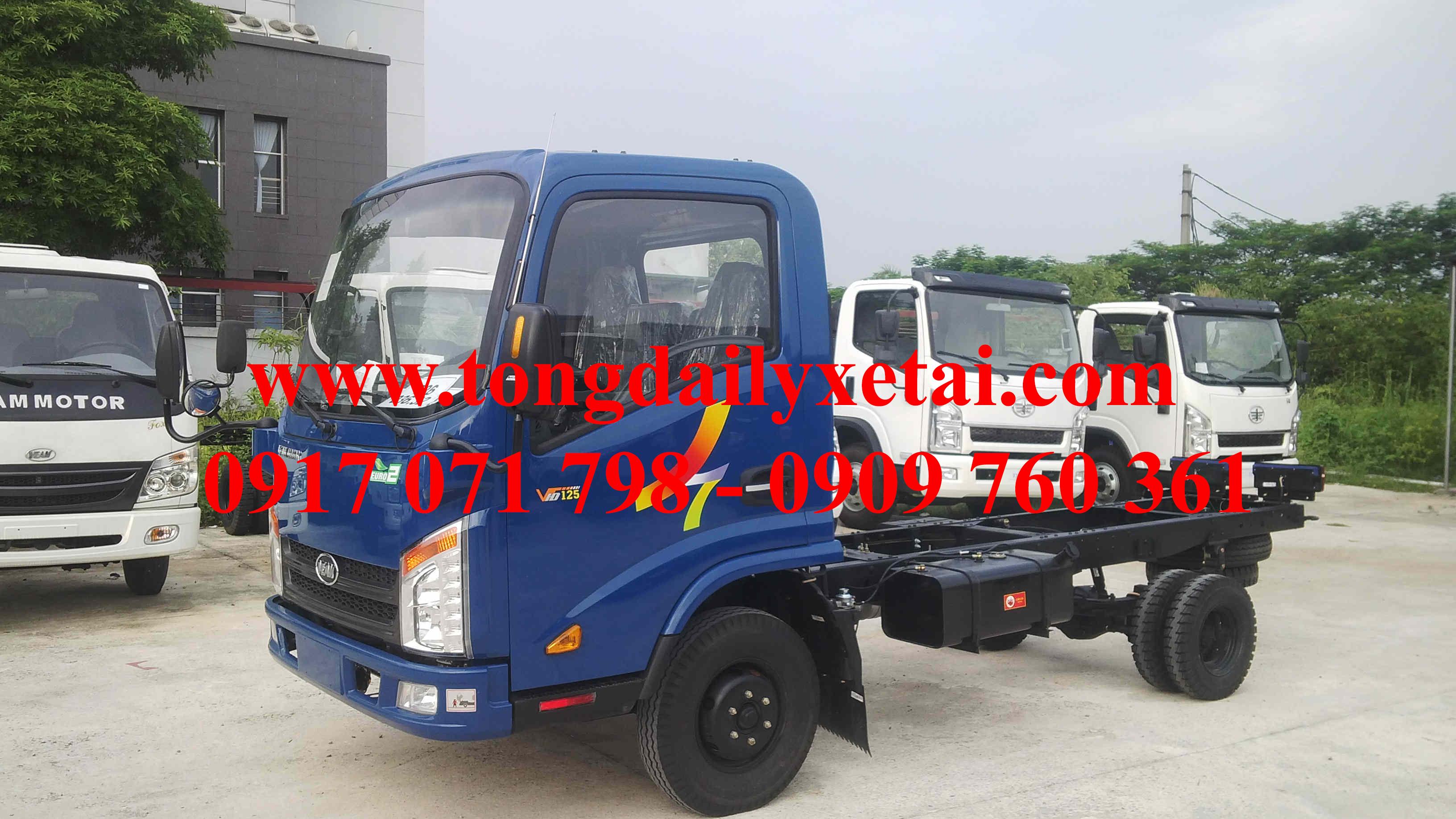 Xe Tải Veam VT125