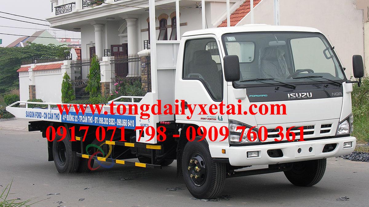 Xe chở xe Isuzu NQR75L 4 Tấn