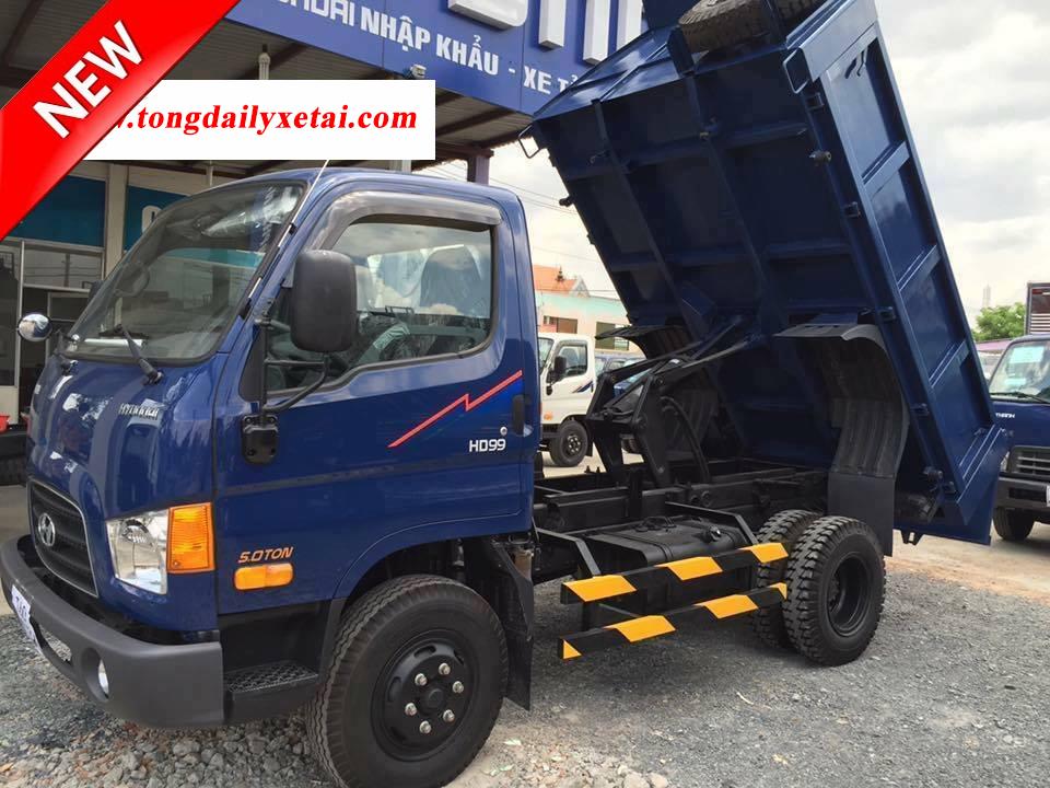 Xe Tải Ben Hyundai HD99 5 Tấn 2017