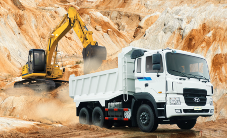 Xe tải hyundai sức mạnh vượt trội về tải trọng chở hàng