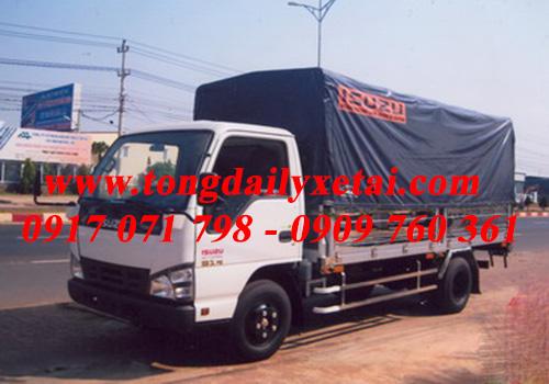 Xe tải Isuzu QKR55H mui bạt 2016