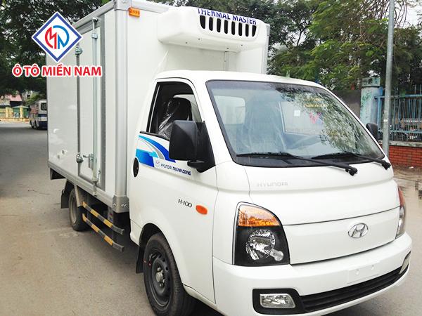 Xe Tải Hyundai Porter H100 Thùng Đông Lạnh 2017