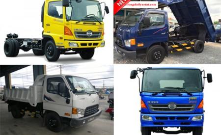 So sánh dòng xe tải Hino và xe tải Hyundai