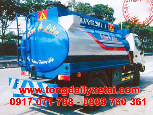 Xe tải Hino Bồn Xăng Dầu