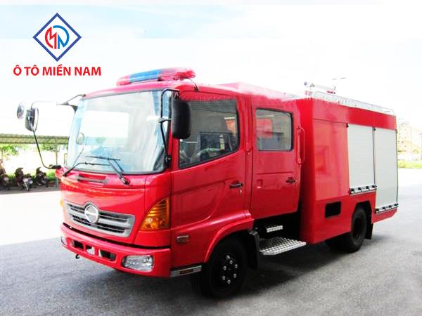Xe Tải Hino FC9JESW Chữa Cháy Cứu Hỏa