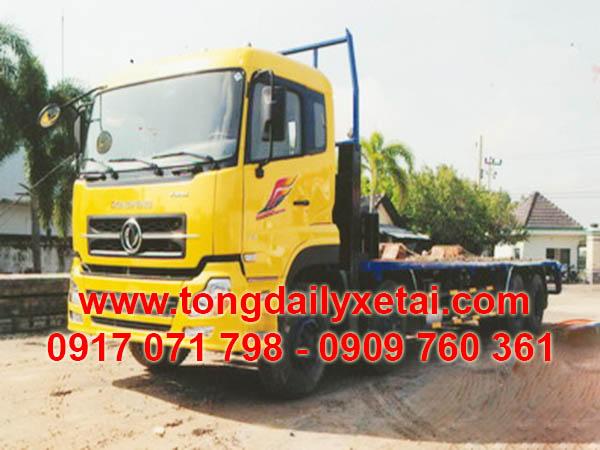 Xe Tải Dongfeng 4 Chân Chở Xe Máy Chuyên Dùng