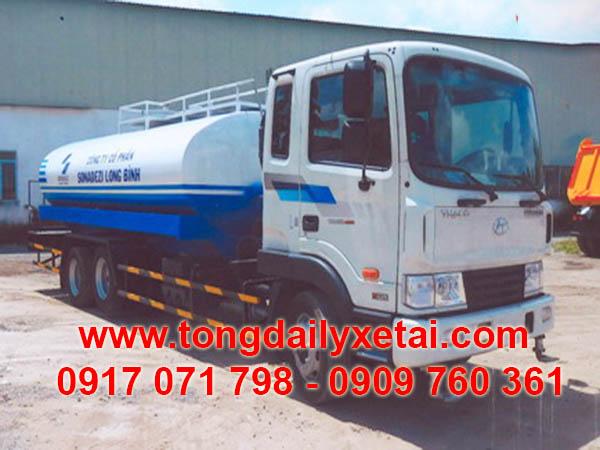 Xe Tải Hyundai Bồn Phun Nước