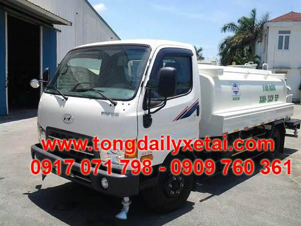 Xe Tải Hyundai Mighty HD99 Bồn Phun Nước 6 Khối
