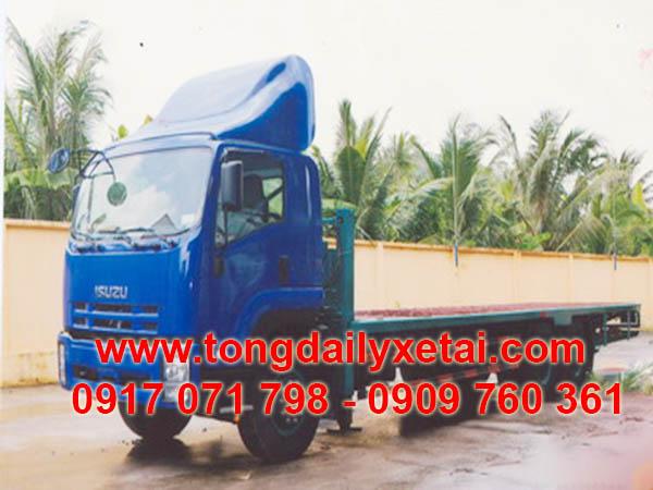 xe tải isuzu chở xe máy chuyên dùng