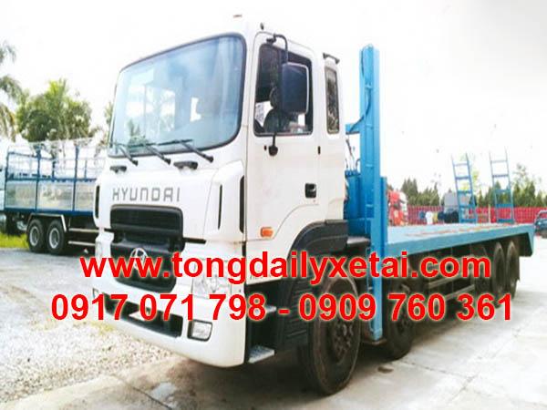 Xe Tải Hyundai HD360 Chở Xe Máy Chuyên Dùng