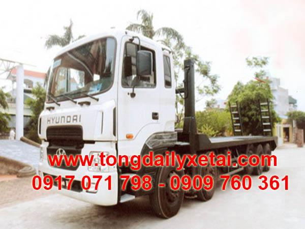 xe tải hyundai chở xe máy HD360