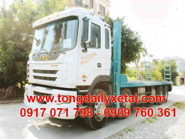 xe tải jac chở xe máy chuyên dùng
