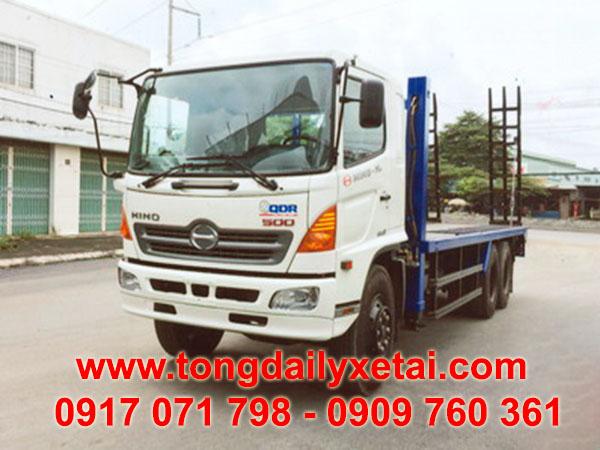 xe tải hino chở xe máy chuyên dùng