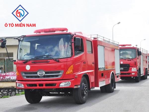 Xe Chữa Cháy Hino FC9JESW 4m3 2017