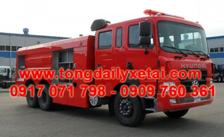 Lưu ý khi mua Xe Cứu Hỏa Chữa Cháy Hyundai