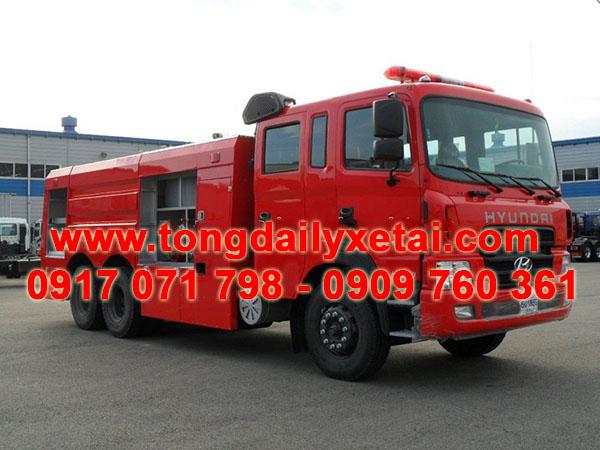 xe cứu hỏa chữa cháy hyundai HD260