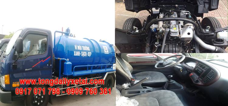 Xe Hút Chất Thải Hyundai