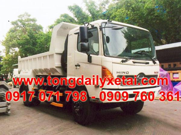 xe tải hino ben tự đổ FG8JJSB tải trọng 8100 kg