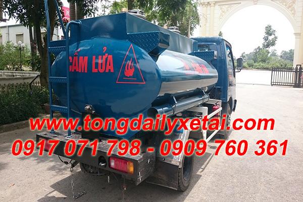 xe tải kia bồn chở xăng dầu 3m3