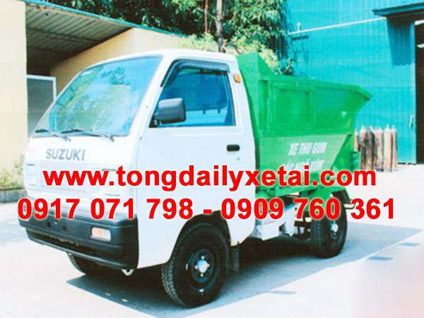 Xe Chở Rác Suzuki Tải Trọng 410 kG