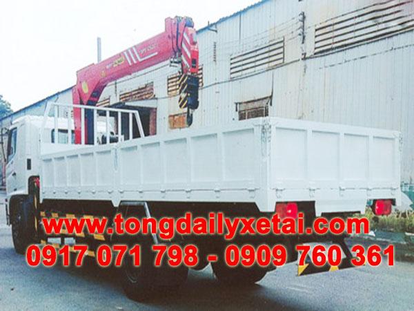 xe tải hino gắn cẩu sany Palfinger 5 tấn