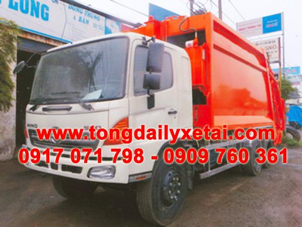 xe tải hino chở rác 22 khốii FM8JNSA
