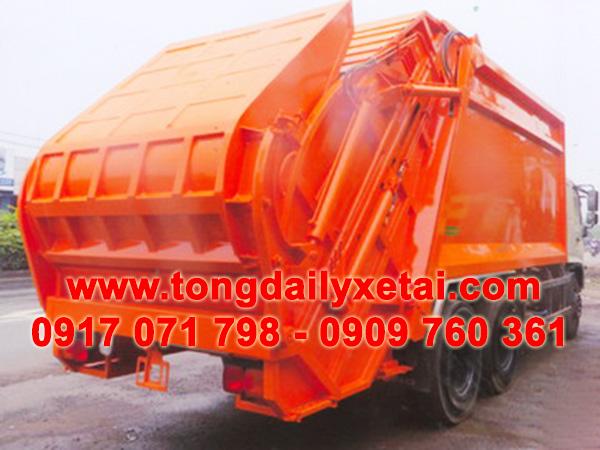 xe tải hino chở rác 22 khối FM8JNSA