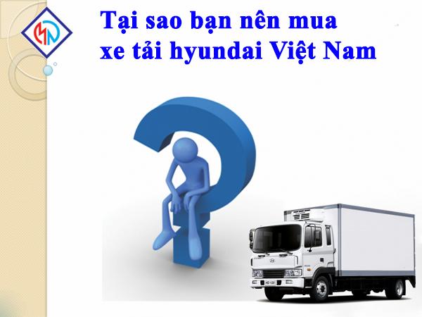 chọn mua xe tải hyundai việt nam