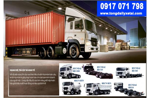 Ưu điểm của xe tải Hyundai nhập khẩu
