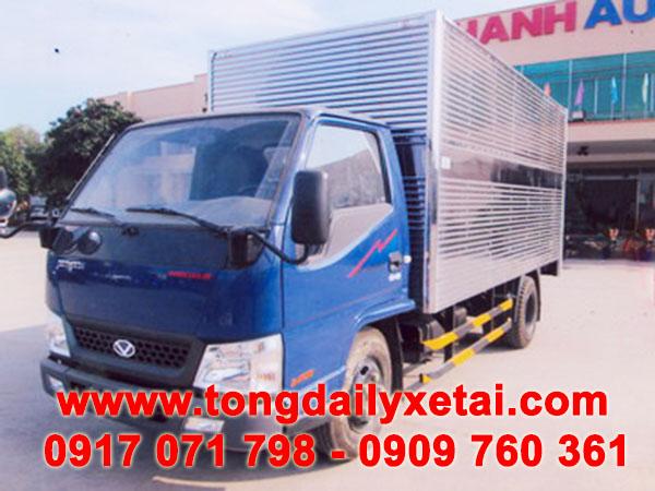 xe tải hyundai 2.4 tấn thùng kín
