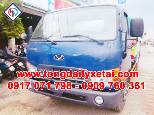 Xe Tải Hyundai HD99 Đô Thành Bồn Chở Xăng 7 Khối