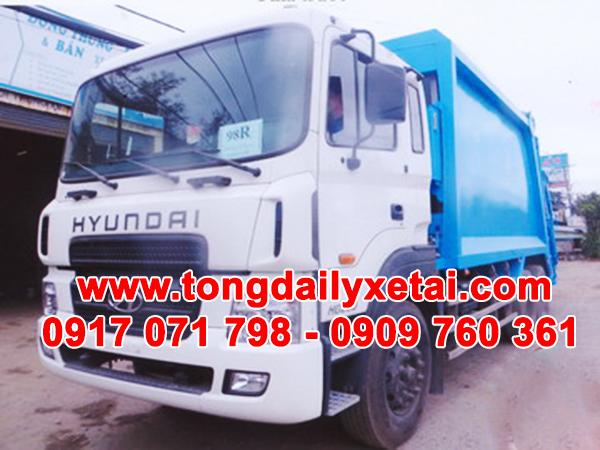 Xe Chở Rác Hyundai HD260 22 Khối