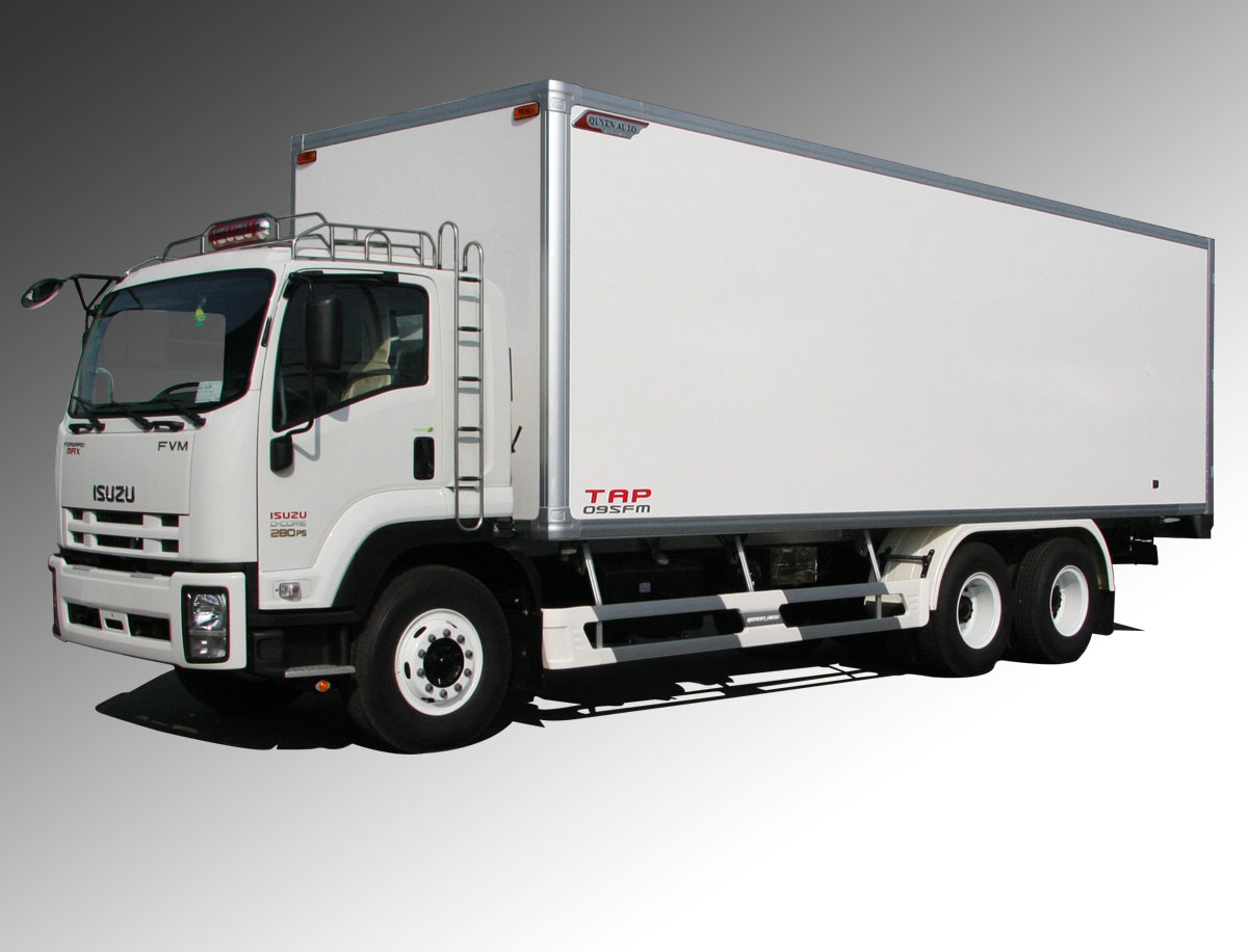 xe tải Isuzu 15 tấn thùng kín