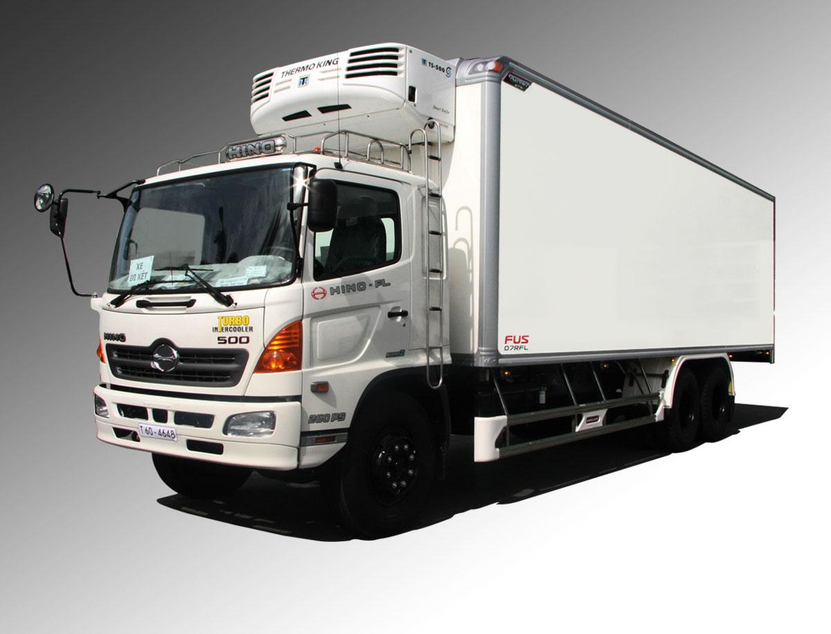 xe tải hino thùng đông lạnh giá rẻ