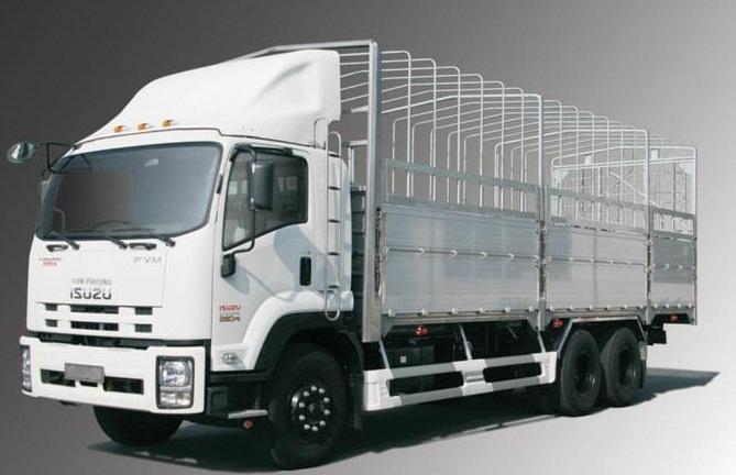 xe tải isuzu 15 tấn mui bạt