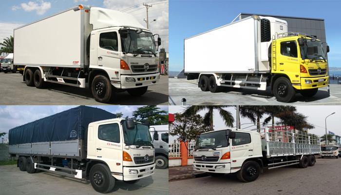 Nên chọn xe tải Hino FL8JTSA loại nào?