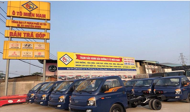 bán xe tải hyundai h150 trả góp