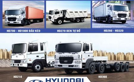 Đại Lý Xe Tải Hyundai Giá Rẻ Uy Tín HCM