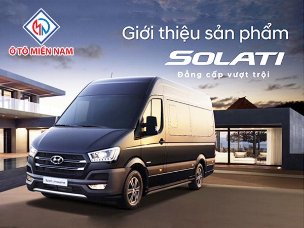 Hyundai Solati | Hyundai Minibus Thành Công 2018 | Xe Khách 16 Chỗ