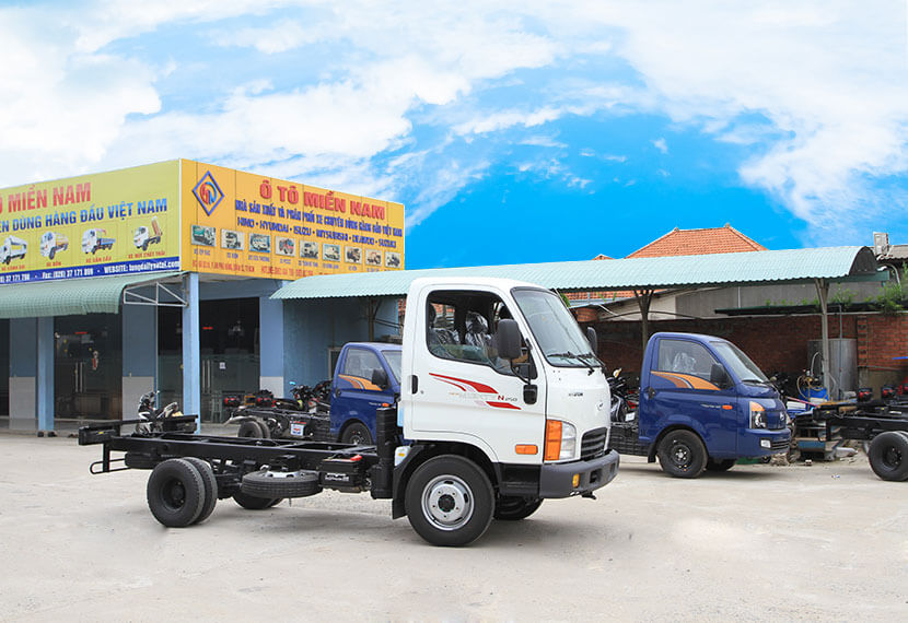 cách chọn mua xe tải